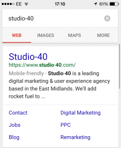 Branded Search for Studio-40