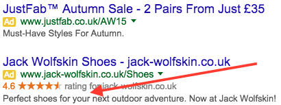 engaging adwords ads personal