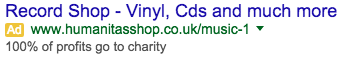 engaging adwords ad copy