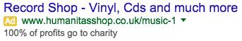 engaging adwords ad copy