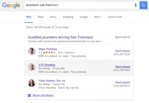 plumbers home service ads